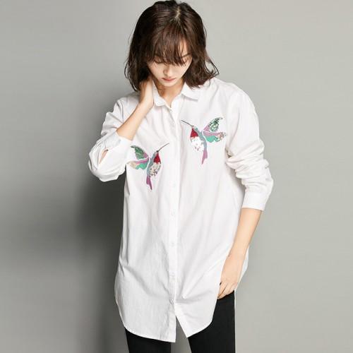 Biến tấu giúp áo sơmi trắng không còn nhàm chán nữa
