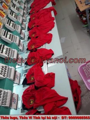 Thêu vi tính trên chất liệu áo Phông